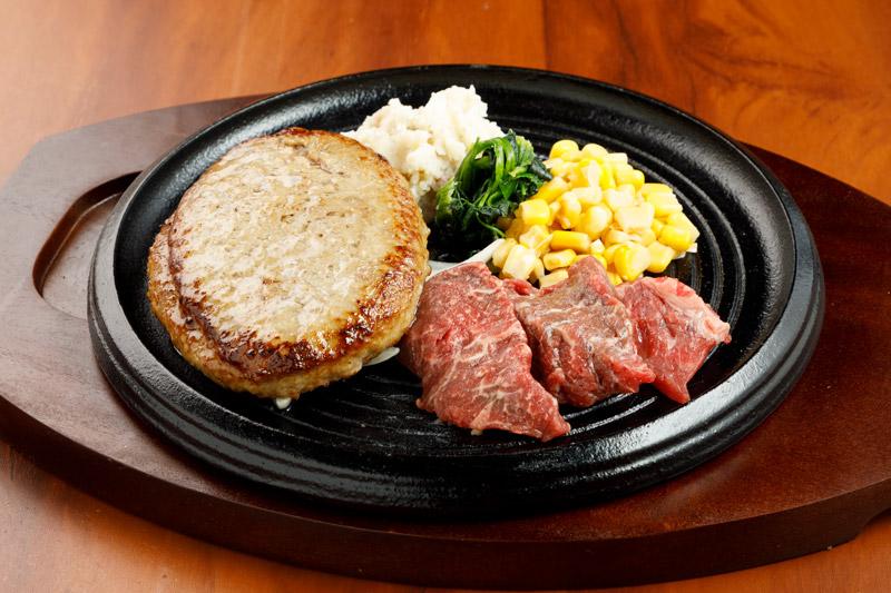 やわらか合い挽きハンバーグ&カットステーキ<span>Tender Hamburger (Ground Beef and Pork) & Pre-Cut Steak</span>