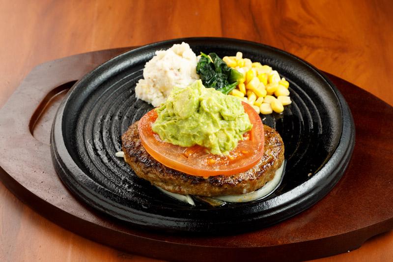 アボカドハンバーグ<span>Hamburger with Avocado</span>