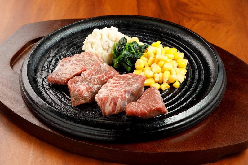 赤身ステーキ スモール<span>Pre-Cut Steak (small)</span>