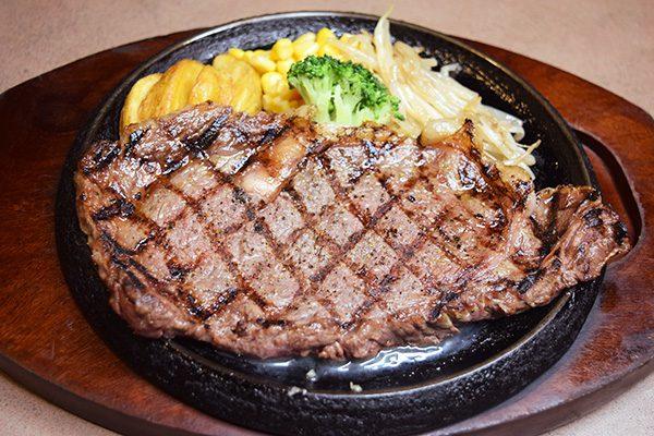 網焼きサーロインステーキ