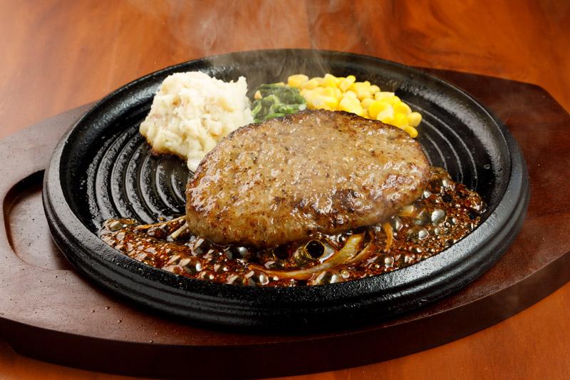 やわらか合い挽きハンバーグ<span>Tender Hamburger (Ground Beef & Pork)</span>