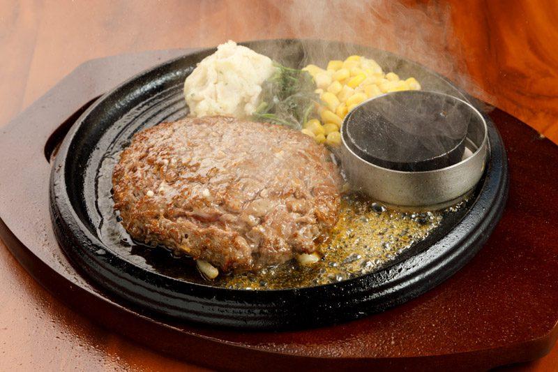 ステーキ職人直伝 国産牛100% チョップドビーフステーキ<span>Steak artisan direct biography 100% domestic beef Chopped beef steak</span>