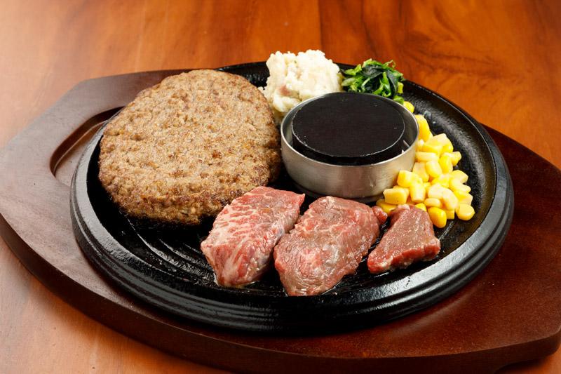 和牛あか牛100% プレミアムハンバーグ&カットステーキ<span>100% All-Japanese Aka-Ushi (Japanese Brown Cattle) Premium Hamburger & Pre-Cut Steak</span>