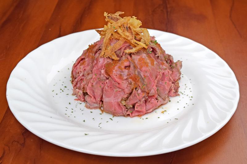 特製ローストビーフwithライス<span>Specially roast beef with rice</span>